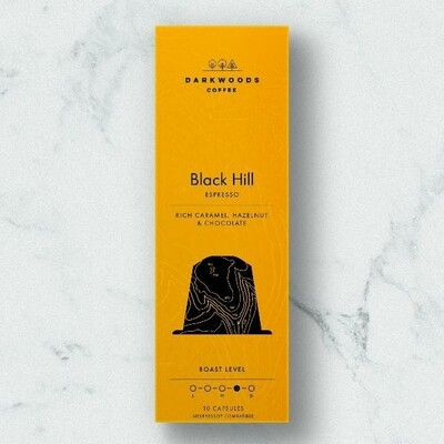 Darkwoods Coffee - Black Hill Nespresso Pods (10s)