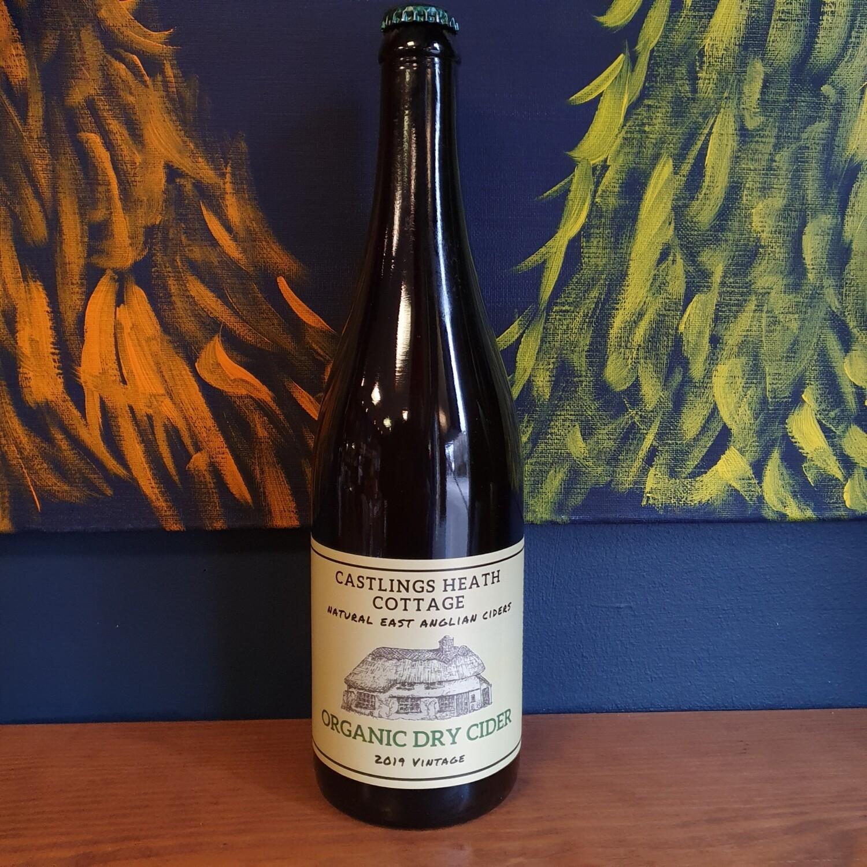 Castlings Heath Cottage - Organic Dry Cider (750ml)
