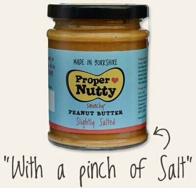 Proper Nutty (Slightly Salted) Peanut Butter 340g