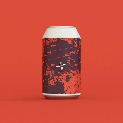 North Brewing - Volta - Blood Orange & Rhubarb Sour 4.1% (330ml)