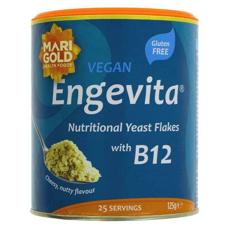 Engevita Yeast Flakes With Vitamin B12 (125g)
