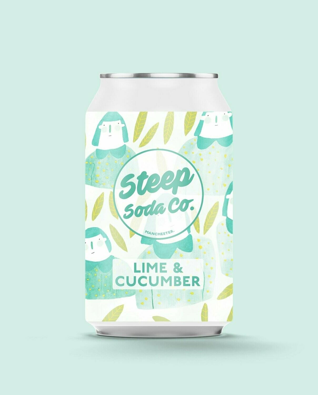 Steep Soda Lime & Cucumber