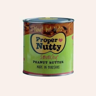 Proper Nutty (Nowt But Nuts) Peanut Butter 1kg