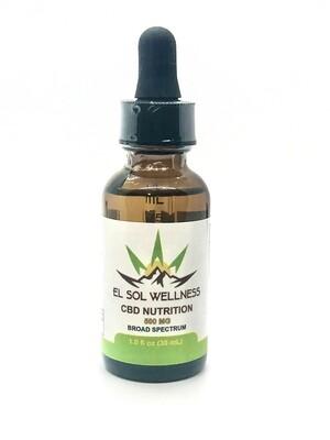 El Sol Wellness Broad Spectrum CBD Oil