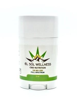 El Sol Wellness CBD Pain Stick - 100mg