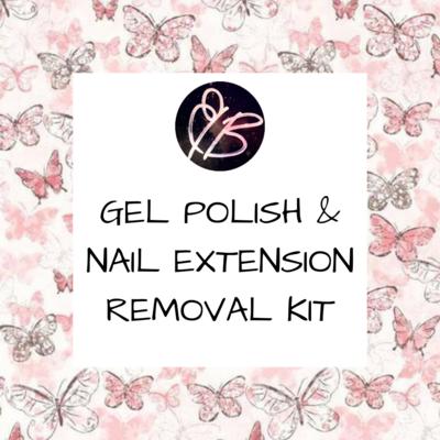 Gel Polish/ Nail Extension Removal Kit