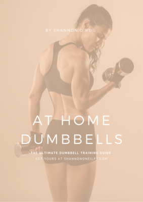 At Home Dumbbells