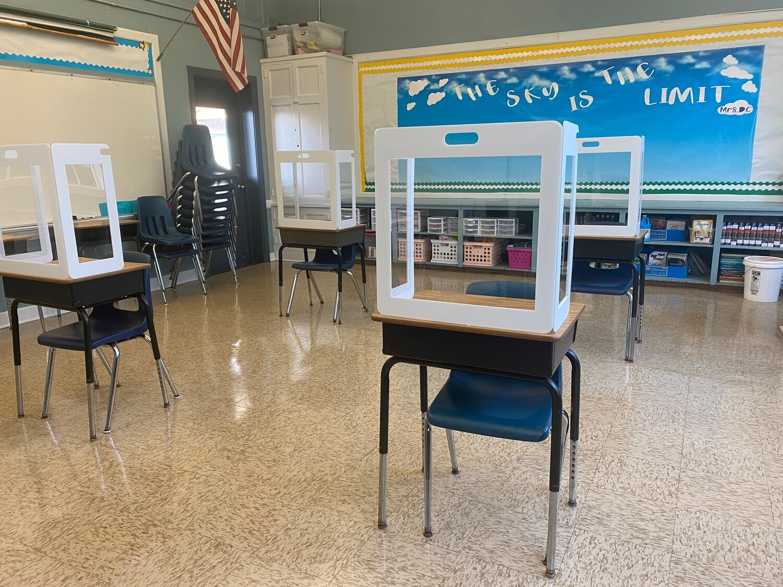 Portable Student Desk Shield