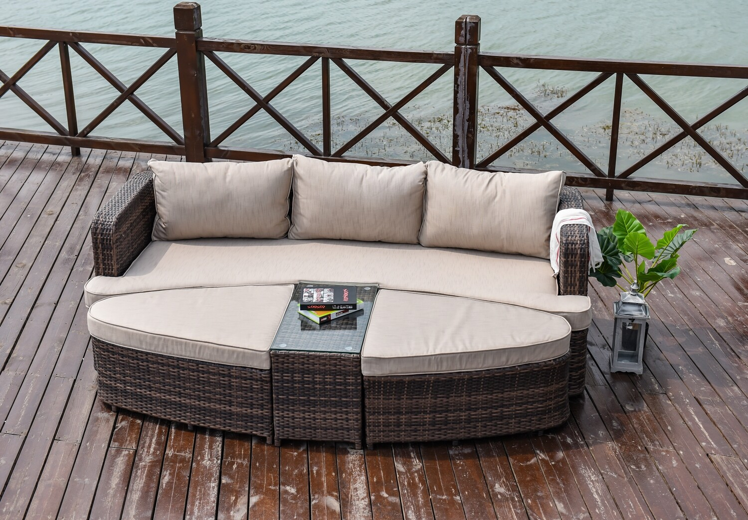 Cochran 4 Piece Deep Seating Daybed