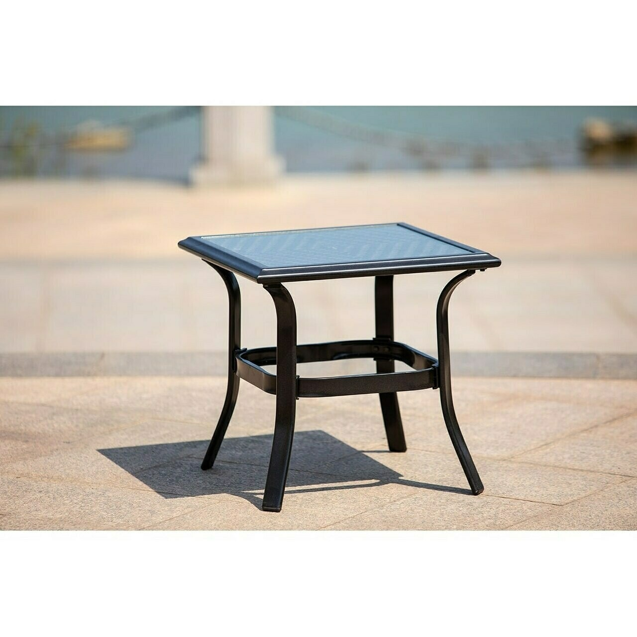 Patio  Side Table, Perfect for Balcony, Deck