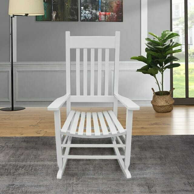 Porch Wooden Rocking Chair