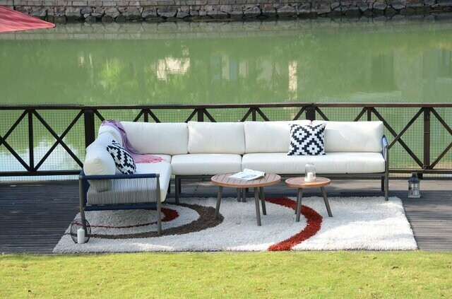 Rope Outdoor Sectional Sofa Set