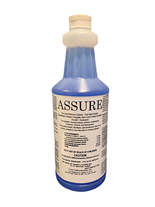 Assure Surface Cleaner, 32oz-Quart