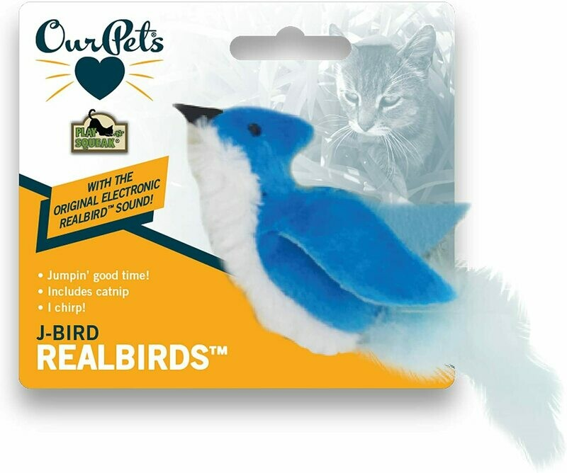 Our Pets Play N Squeak Bird J-Bird