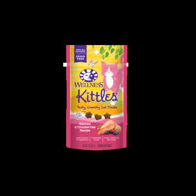 Wellness Kittles Salmon Cranberry Treats 2oz