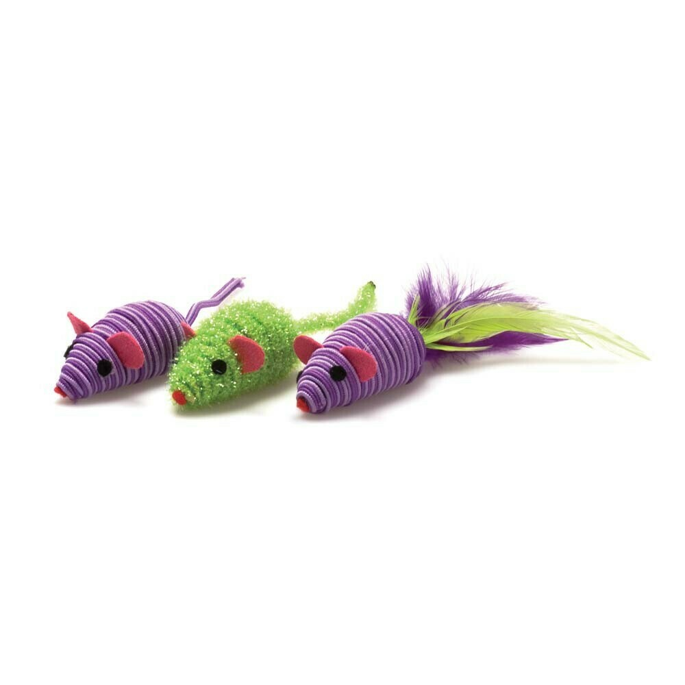 Three Twined Mice Toy 3-pack