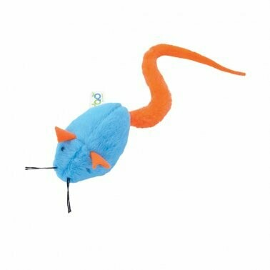 Turbo Tail Rattle Mouse Toy