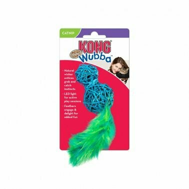 Kong Wubba Wicker Cat Toy