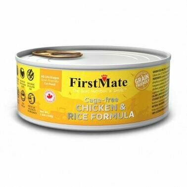 FirstMate Grain Friendly Chicken & Rice 5.5z