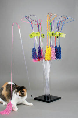 VEE PURRfect Curly Cat Toy