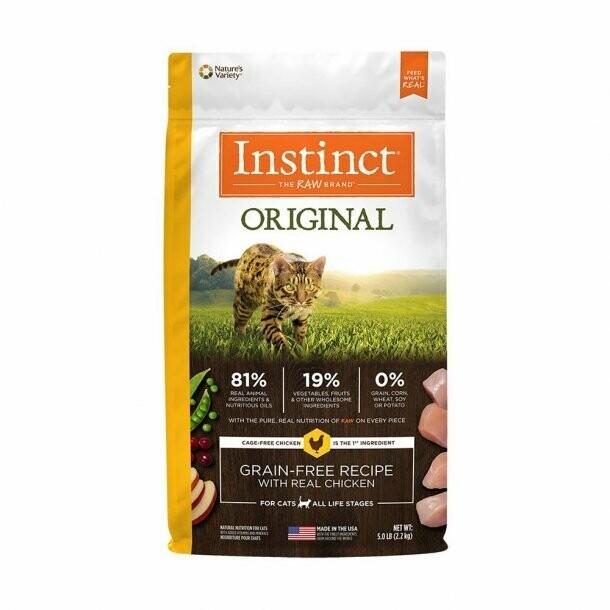 Instinct Grain-Free Chicken Cat Food 5#