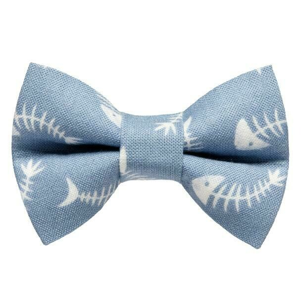 Bad to the Bone Bow Tie by Sweet Pickles Designs