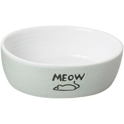 Nantucket Meow Cat Dish