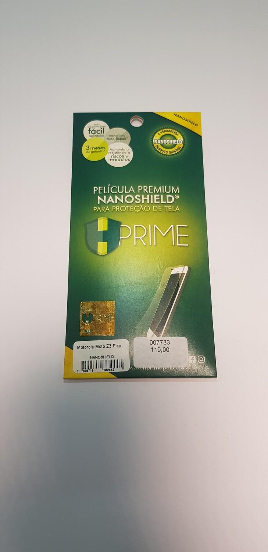 Película HPrime Motorola Moto z3 Play NanoShield