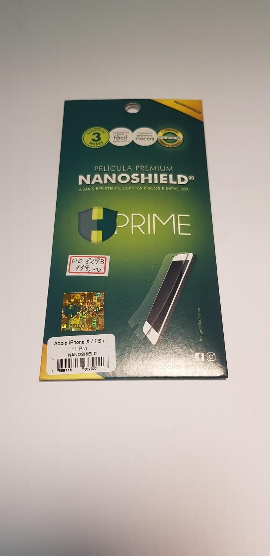 Película HPrime iPhone X/XS/11 Pro NanoShield