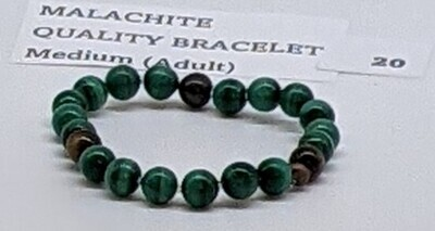 CoDS Vaxxinator Malachite Quality Bracelet Medium (Adult)