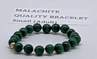 CoDS Vaxxinator Malachite Quality Bracelet Small (Adult)