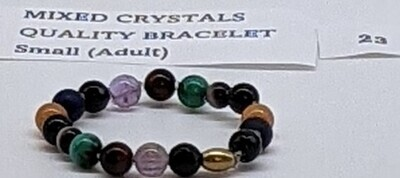 CoDS Vaxxinator Mixed Crystals Quality Bracelet Small (Adult)