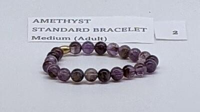 CoDS Vaxxinator Amethyst Standard Bracelet Medium (Adult)