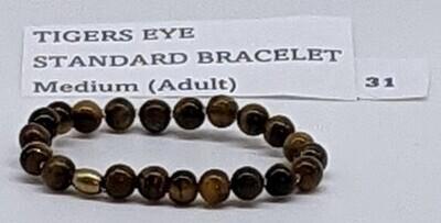 CoDS Vaxxinator Tigers Eye Standard Bracelet Medium (Adult)