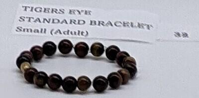 CoDS Vaxxinator Tigers Eye Standard Bracelet Small (Adult)