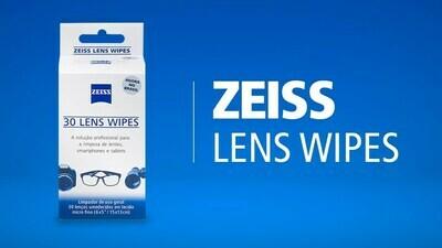 Lenços Descartáveis ZEISS Lens Wipes