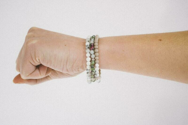 Morse Code Bracelets Made by Overcomers of Modern Day Slavery