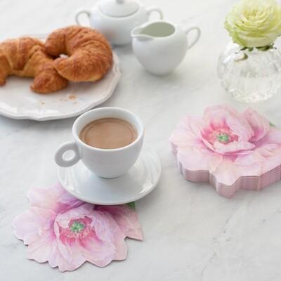 Blush Die Cut Paper Linen Napkin