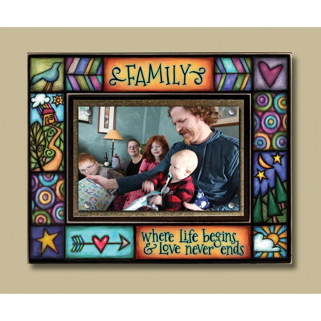 Colorful Picture Frames 4x6 Photo