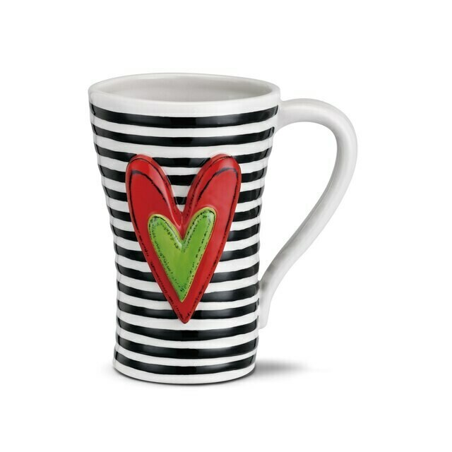 Heartful Mug - Enjoy a Cup of Love