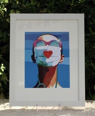 Pop Art Print Made in Sarasota