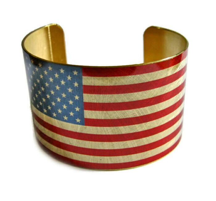 Vintage Brass Cuffs Made in USA