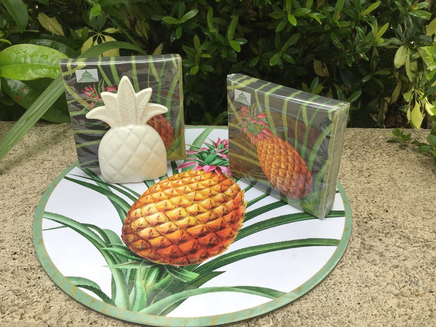 Dual Purpose Pineapple Holder
