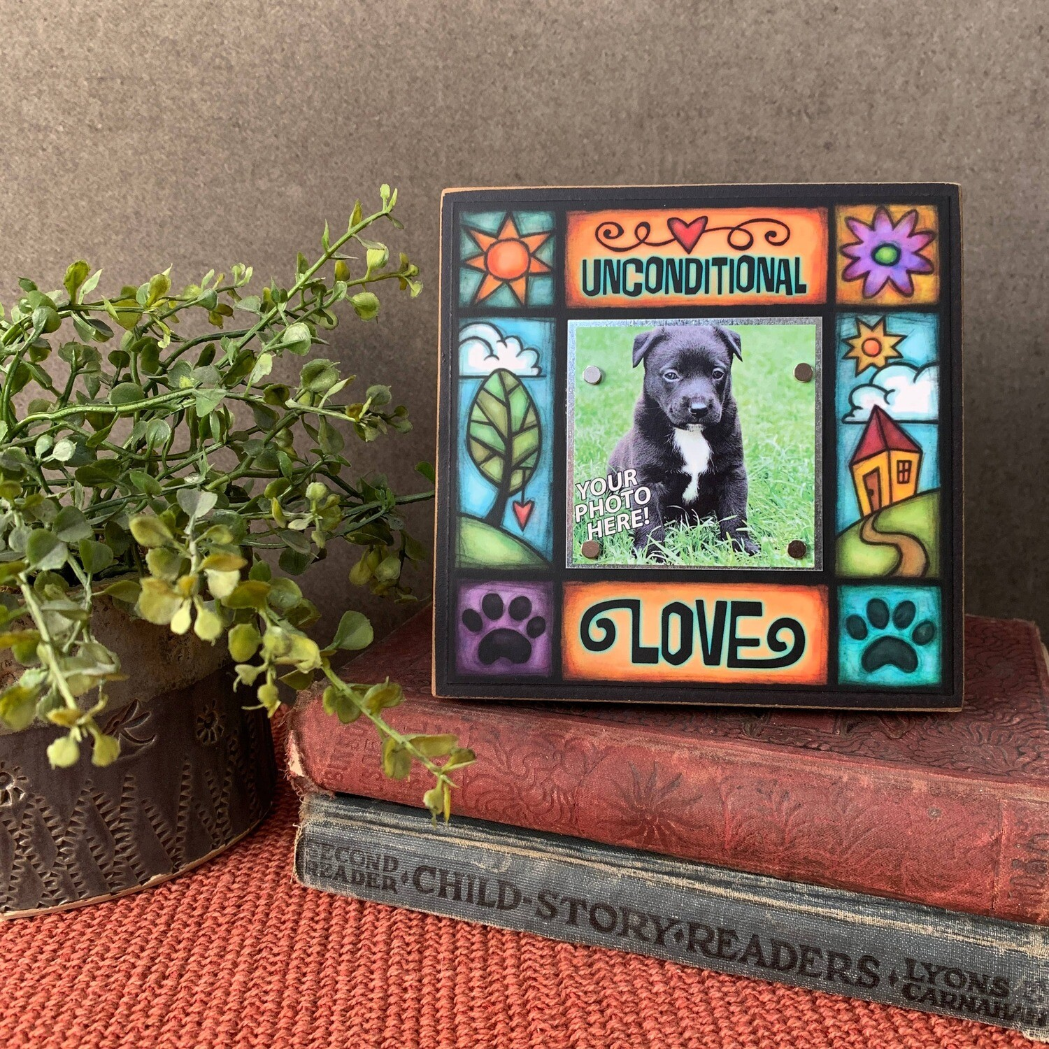 Colorful Picture Frames 2x2 Photo