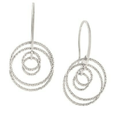 Frederic Duclos Sterling Silver Earrings