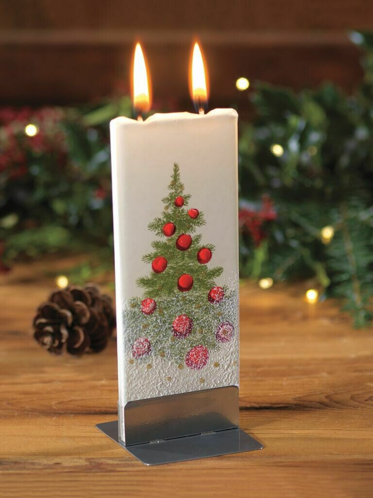 The Only Flat Decorative Candle in the World!