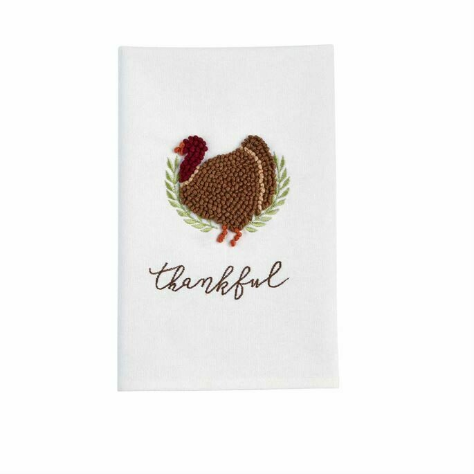French. Knot Thanksgiving Towels