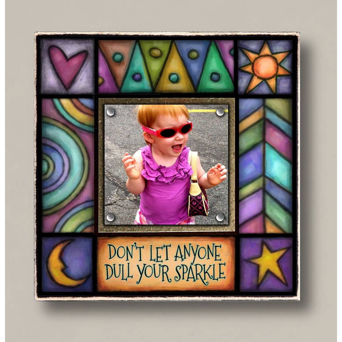 Colorful Picture Frames 2.5x2.5  Photo