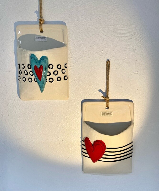 Heart Wall Pocket