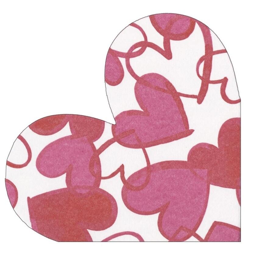 Die Cut Paper Linen Napkin